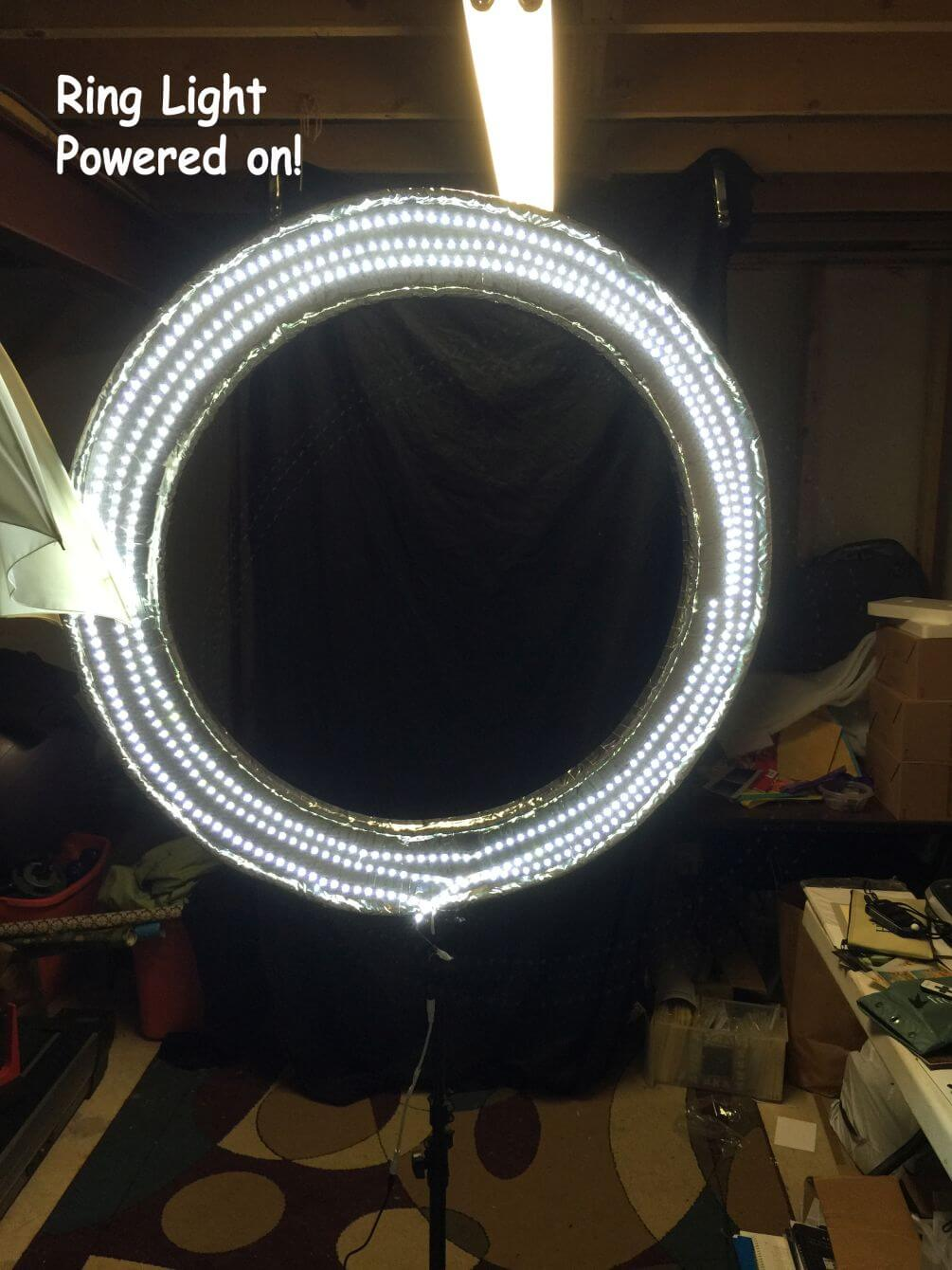 BUILD DIY LED RING LIGHT